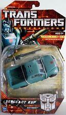 "SERGEANT KUP Transformers Generations 5"" inch Deluxe Class Autobot Figure 2011"