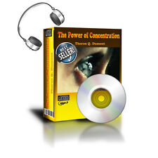 The Power of Concentration by Theron Q. Dumont  Audio-Book AudioBook mp3 CD