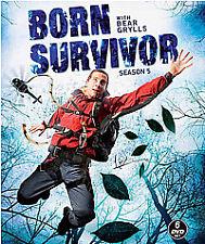 Bear Grylls - Born Survivor - Series 5 - Complete (DVD, 2011, 6-Disc Set)