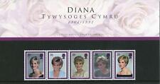 GB 1998 Princess Diana WELSH Presentation Pack SUPERB! SG Cat £60 LOOK!
