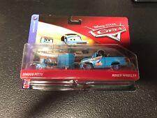 Disney Pixar Cars 2 pack Roger Wheeler & Dinoco Pitty 2018