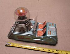 "RARE WORKING 1950's LINEMAR "" MOON SPACE SHIP "" TIN LITHO BATTERY OPERATED"