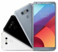 LG G6 H872 32GB Ice Platinum/Black GSM Unlocked T-Mobile ATT 4G LTE Android A