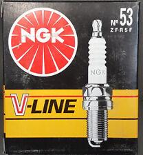 4x Ngk Bujía v-line53 ZFR5F 94301 OPEL ASTRA H #