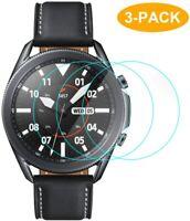 3X Hartglas für Samsung Galaxy Watch 3 45 mm Panzerfolie Display Schutzfolie 9H