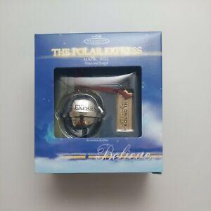 "2004 The Polar Express ""Magic Bell"" Hallmark Keepsake Collectors Ornament NIB"