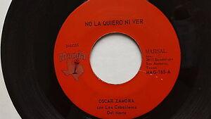 Oscar Zamora Avec Los Caballeros - Sans La Quiero Ni Ver Latin Tejano TEX-MEX 7