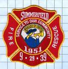 Fire Patch - Summerfield 1951