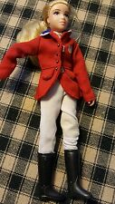 Breyer Reeves Horse Rider Doll Horses Red Jacket USA GIRL equestrian team