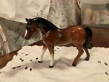 VINTAGE BAY HORSE CHINA HORSE MADE IN JAPAN