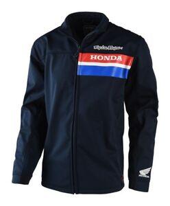 Troy Lee Designs Original Honda Reise Jacke Navy Motocross MX Motorräder