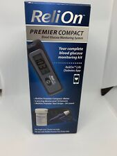 Brand New ReliOn Premier Compact Blood Glucose Monitoring System Complete Kit