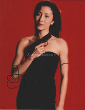 Michelle Yeoh HAND Signed 8x10 Photo Autograph James Bond Tomorrow Never Dies B