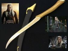 The Lord of the Rings/The Hobbit Legolas Single Sword with cover and stand