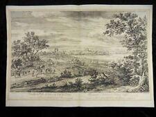 ARDRES AARDEN CALAIS GROßE RADIERUNG ADRIAEN FRANS BOUDEWIJNS VAN MEULEN 1685