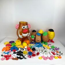 Mr Potato Head LOT 100+ Accessories Spuds Corn Carrot Container Mini Faces More