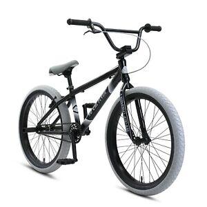 "New SE Bikes Black So Cal Flyer 24"" BMX 2021"