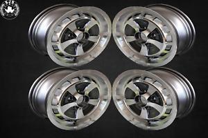 4x Alloy Rim Xjs Style 6x15 Et 33 For Jensen Interceptor New Tüv