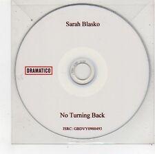 (FU515) Sarah Blasko, No Turning Back - DJ CD