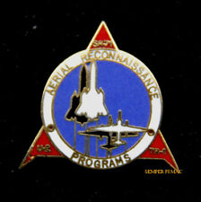 SR-71 U2 TR-1 AERIAL RECONNANISSANCE HAT LAPEL PIN UP US AIR FORCE PILOT CREW