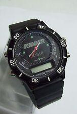 KIDDER SKIS Men's Black Diver Watch