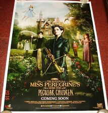 MISS PEREGRINE'S HOME FOR PECULIAR CHILDREN (2016) EVA GREEN DS POSTER