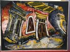 """James Michalopoulos 24 x 18 Signed Numbered Scene Giclee Art """" Lamothe"""""""