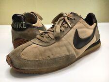 Vintage Nike Oceania 1978 Rare Size 10.5 Brown Tan 70s Nylon Shoes Running OG