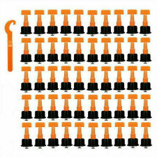 100X Tile Leveling System Kit Reusable Flat Ceramic T-Lock Locator Spacer Tools