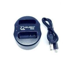 Mondpalast - For Nikon  EN-EL14 USB Dual USB Charger