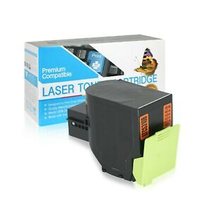 701H Compatible USAA Toner Cartridge for Lexmark CS310DN (HY C,M,Y,K,4 Pack)