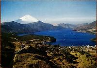Mt. Fuji and Lake Hakone, Japan.  NBC (Nippon Beauty Colour) Inc. Postcard