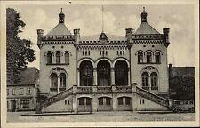 Wirrenburg Mecklenburg s/w Postkarte ~1940 Straßenpartie am Rathaus ungelaufen