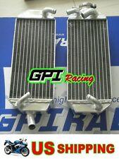 GPI R&LH aluminum Radiator Suzuki RM250 RM 250 99-00 1999 2000