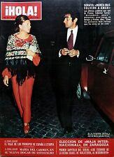 SPANISH mag 1972: Princess SORAYA_HAILE SELASSIE_Queen JULIANA of  Netherlands