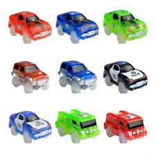 Electronics Special Car for Magic Track Toys With Flashing Light Educational Kid