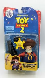 1999 Toy Story 2 SHIFTY SHOOTIN' PROSPECTOR STINKY PETE Never Opened