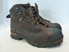 "Timberland PRO 6"" Brown Waterproof Insulated Puncture Leather Work Mens Boot 10M"