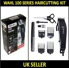 WAHL 100 SERIES MENS HAIR TRIMMER HAIRCUTTING COMPLETE CUTTING CLIPPERS KIT SET