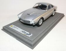 BBR Ferrari 250 GT Lusso Zilver CARS1812C incl. Display 1:18 geen MR