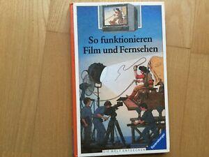 So funktionieren Film und Fernsehen Ravensburger die Welt Entdecken Buch gebunde