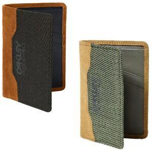 Oakley Men's Factory Pilot Leather Wallet