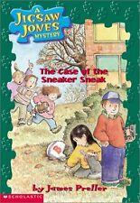 The Case of the Sneaker Sneak (Jigsaw Jones Mystery, No. 16) by James Preller