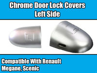 Door Lock Cover For Renault Megane & Scenic L/H Chrome 8200036411