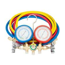 New A/C Manifold Gauge Hose Air Conditioner Refrigerant Maintenance R134a R12