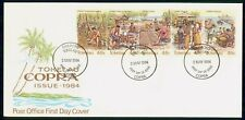 Mayfairstamps Tokelau FDC 1984 Production Copra Process Combo First Day Cover ww