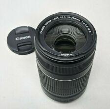 Canon EF-S 55-250mm F/4-5.6 II IS Lens