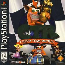 Crash Team Racing Ctr - PS1 PS2 Complete Playstation Game