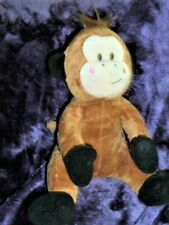 Lil Sweetez Commonwealth Stuffed Plush Brown Monkey Pink Cheeks
