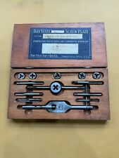 Bay State Tap & Die Set 15 piece / Mansfield Mass.
